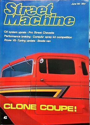 STREET MACHINE June 1985: Chevette, '33 Plymouth, Beetle Van, usado comprar usado  Enviando para Brazil