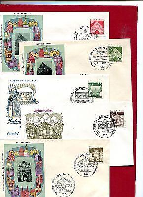 BRD - FDC Jahrgang  1966 - KW 85, -- € ( 26119 )