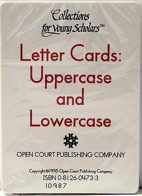 Letter Cards: Uppercase and Lowercase Flash Cards Collections for young Scholars