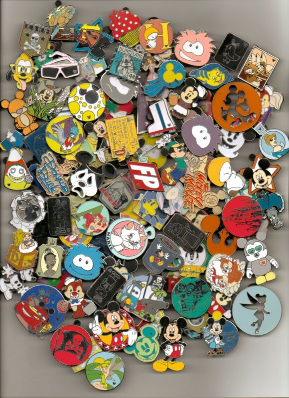 Disney Pin Trading Lot U Pick Size to purchase 25,50,75,100,125,150,200 MJB