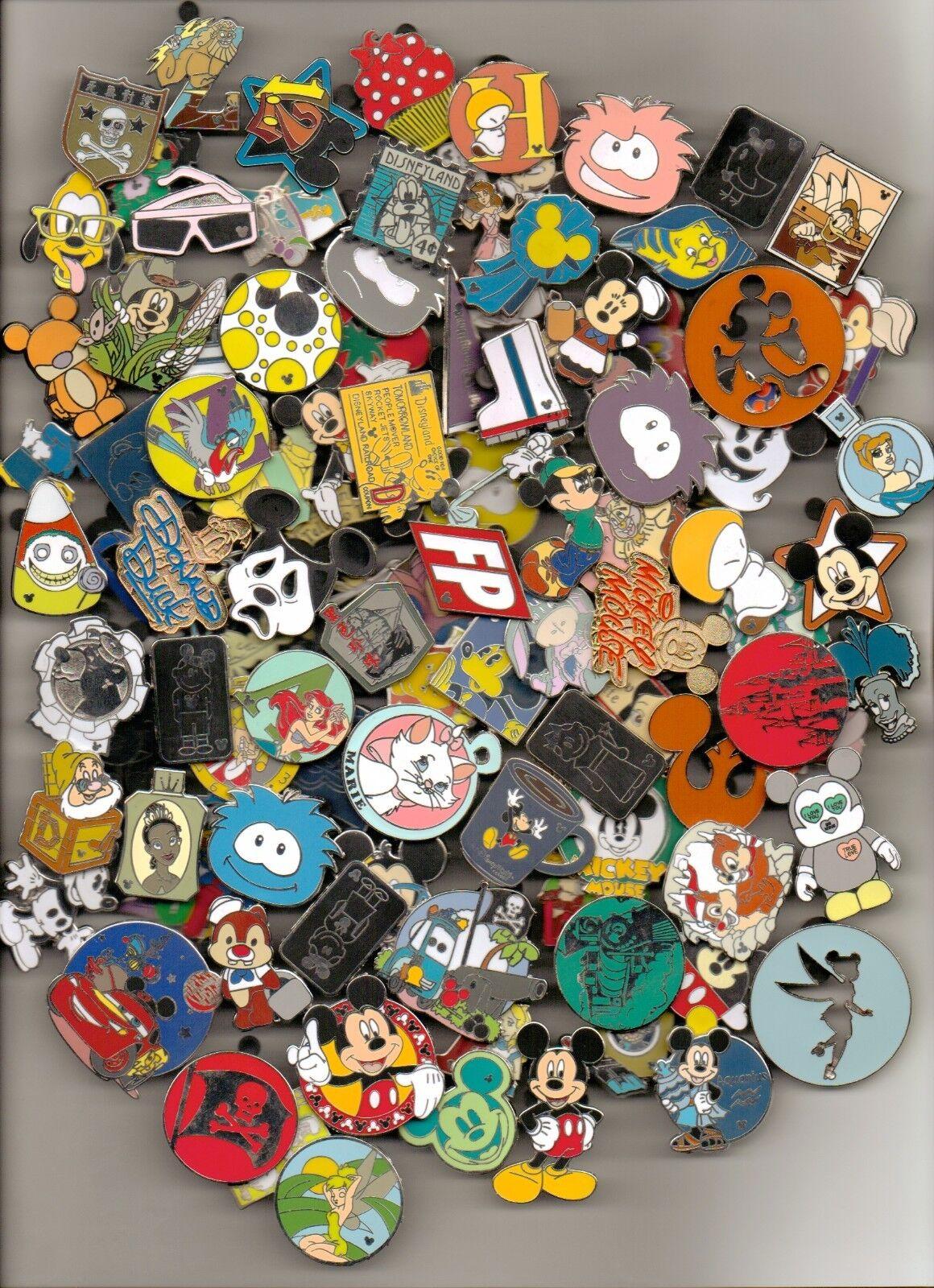 Disney Trading Pin 80 lot HM-RACK-LE-CAST NO DUPLICATES Fastest Shipper in USA