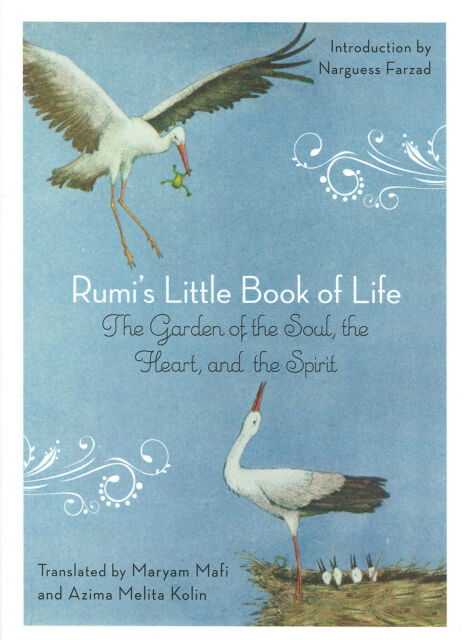 Rumi's Little Book of Life Translated by Maryam Mafi & Azima Melita Kolin NEW