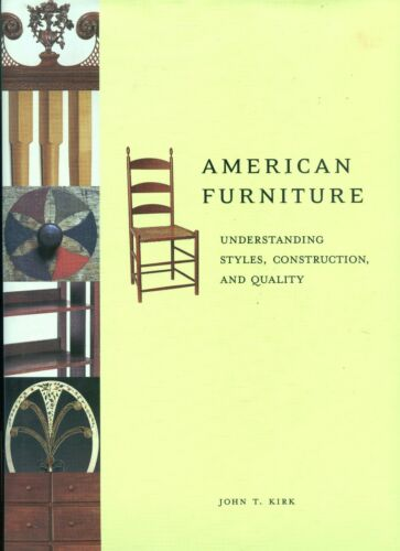 Appraiser's Book - Understanding American Antique Furniture Styles Construction