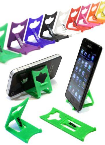 Mobile Smart Phone Holder /Support : GREEN iClip Folding Travel Desk Stand Rest
