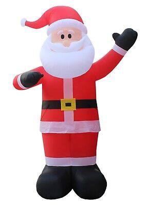 14 FOOT TALL JUMBO Christmas Inflatable Santa Claus Blowup Lights NEW Decoration