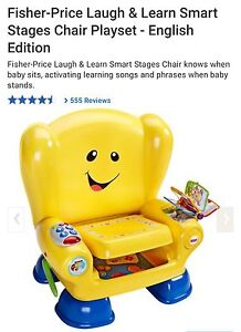 Fisher-Price Laugh & Learn Smart Stages Chair Playset