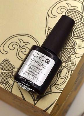 CND BASE COAT Shellac UV Gel Nail Polish Best Gel 7.3 ml SALE ~FREE shipping