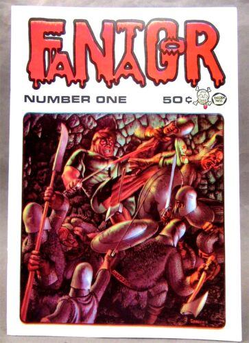1970 #1 Richard Corben FANTAGOR comic book Underground Comix HIGH GRADE