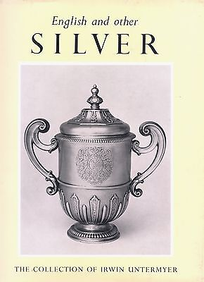 English Continental Gold Silver - Makers Marks Dates Etc. / Scarce Oversize Book
