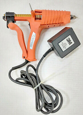 3m Polygun Hp Adhesive Applicator Hot Melt Glue Gun 350 Watts 120v Works Great