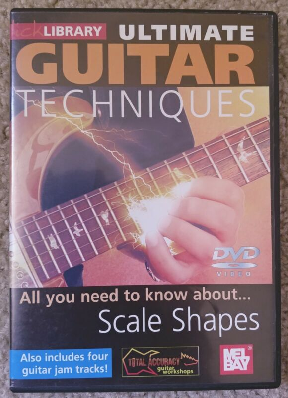 Lick Library DVD - Ultimate Guitar Techniques: Scale Shapes