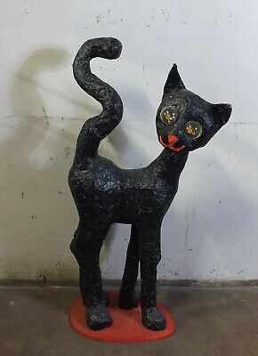 Cat Decorative Mannequin Figurine Doll Pappmach