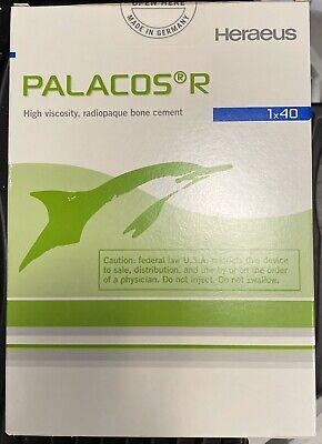 Heraeus Palacos R Radiopaque Orthopaedic Surgery Bone Cement Exp 1023