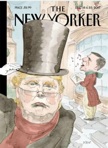 THE NEW YORKER MAGAZINE DECEMBER 18&25 2017-DAY U PAY IT SHIPS FREE
