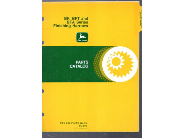 JOHN DEERE PARTS CATALOG PC-1696- 2800 SEMI-INTEGR