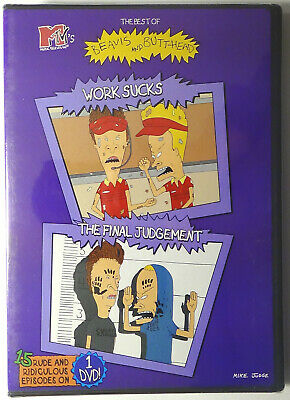 The Best of Beavis and Butt-Head ~ Work Sucks & The Final Judgement DVD 2002 NEW](Best Halloween Comedy Movies)