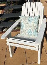 Shabby Chic Adirondack Style outdoor patio/pool deck chair Highgate Hill Brisbane South West Preview