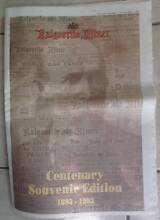 Kalgoorlie Miner Centenary Souvenir Edition 1893 - 1993 Greenwood Joondalup Area Preview