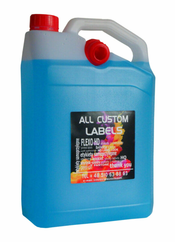CUSTOM FULL COLOR PRINTED LABELS, PE FOIL FOR HDPE PACKING 100 X 100 MM, 1000