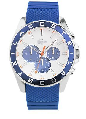 Lacoste Men's Westport Stainless Steel Strap White Dial Analogue Watch.