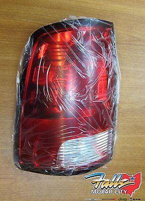 2500 Tail Light Lh Driver - 2010-2019 RAM 1500 2500 3500 LH Left Driver Side Tail Light Stop Lamp MOPAR OEM