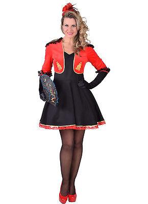 SPANISH Style - Hat Check Girl / Circus / Cinema Usher Costume  - sizes 6-20 - Hat Check Girl Kostüm