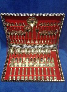 Silver plated cutlery set...Italy 800 Merrimac Gold Coast City Preview