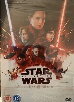 Star Wars The Last Jedi New Sealed DVD