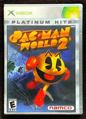 Pac-Man World 2 Platinum Hits (Microsoft Xbox, 2002) - Complete