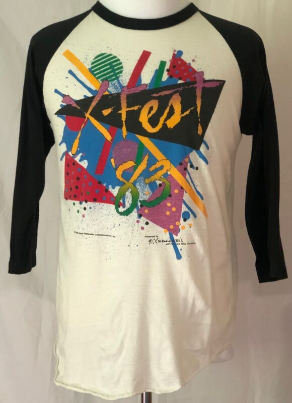 Tom Petty & The Heartbreakers Stray Cats X-Fest 1983 San Diego Shirt Size XL