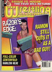 PRO-WRESTLING-ILLUSTRATED-OCTOBER-1995-RAZOR-RAMON-HULK-HOGAN-RIC-FLAIR-WWE-WWF
