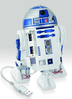 STAR WARS R2-D2 USB HUB 4 Port for USB3.0 Real Sound and Moving New Version