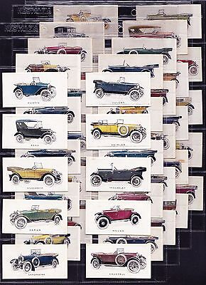 BAT / B.A.T. MOTOR CARS (GREEN BACK) 1926 Set Of 48 *VG Condition*
