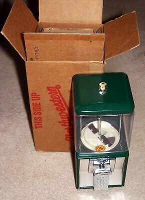 Northwestern Model 60 25 Cent Gumball Candy Vending Machine Green Nib