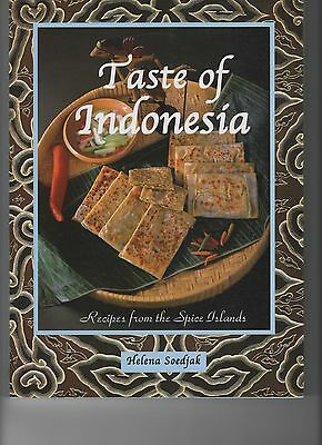 Taste Of Indonesia-traditional Recipes-the Spice Islands-cookbook-cooking-color
