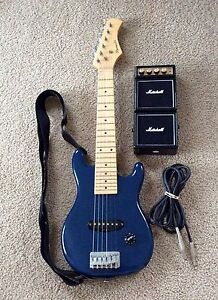 Phoenix Electric Learners or Practice Guitar + Marshall Micro Amp Saratoga Gosford Area Preview