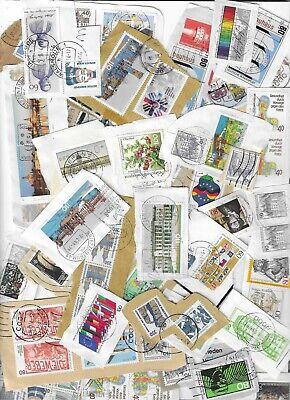 1 KILO World on paper stamps kiloware mixture