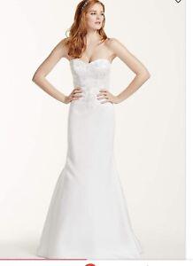 Brand new never worn wedding dress $150