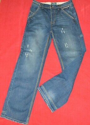 SUPERDRY MENS JEANS TROUSERS  SIZE: W34 L32