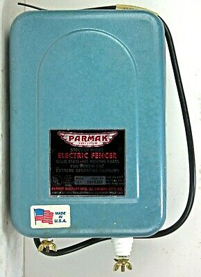 Parmak Stocker Electric Fence Charger 10 Mile 6 Volt Battery L30