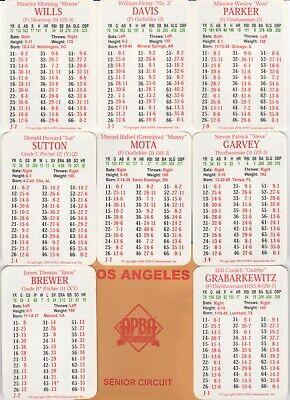 LA DODGERS 1970 APBA Reprint 35 Card Team Set w/ MG symbols -NM/MT- DAVIS- WILLS (La Dodgers Card)