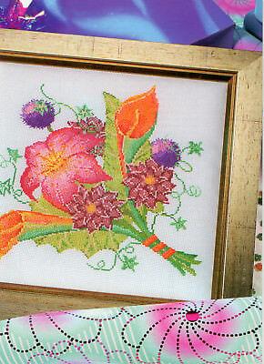 Autumn Glory British XS Magazine Pattern - Diane Machin - Flowers & Bouquet
