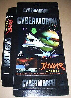 "Atari Jaguar 64-bit Konsole Original "" Cybermorph "" Spiel Packung Neu P/n :"