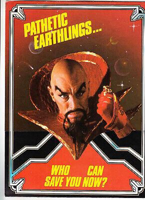 BALLY Flash Gordon pinball flyer brochure pamphlet BRAND NEW. Year 1980. 1 only
