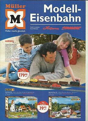 Spielzeug Katalog Müller Modelleisenbahn`08 Märklin Fleischmann Noch kein Vedes