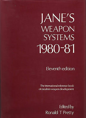 WARFARE JANE'S WEAPON SYSTEMS 1980-81 MISSILES RADAR