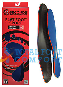 10-Seconds-Flat-Foot-Sport-Arch-Support-Insoles
