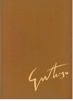 BRANDI CESARE GUTTUSO ANTOLOGIA CRITICA VITTORIO RUBIU FABBRI 1983 EDIZ. LUSSO
