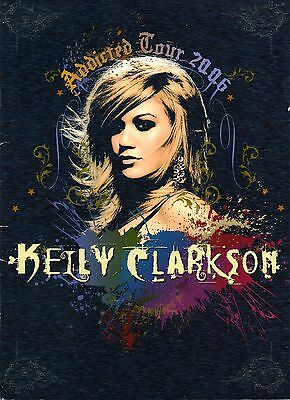 KELLY CLARKSON 2006 ADDICTED TOUR CONCERT PROGRAM BOOK / EXCELLENT 2 NEAR MINT