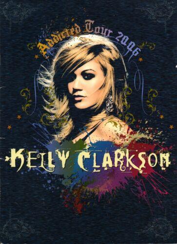 KELLY CLARKSON 2006 ADDICTED TOUR CONCERT PROGRAM BOOK / NEAR MINT 2 MINT